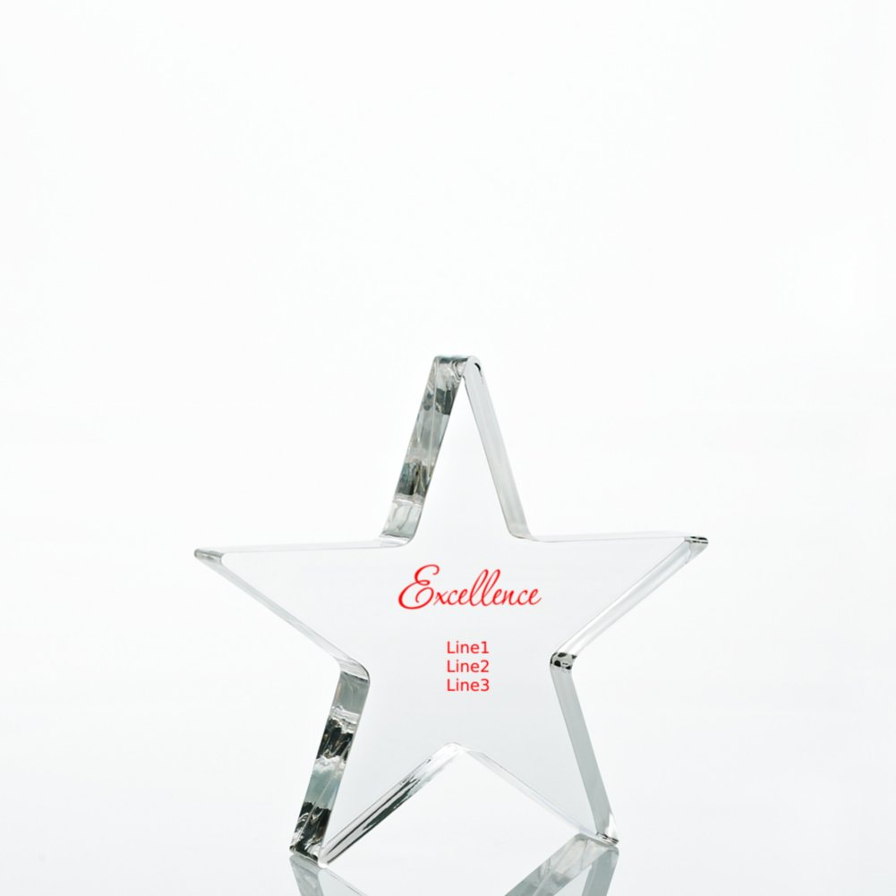 View larger image of Star Acrylic Trophy - Star