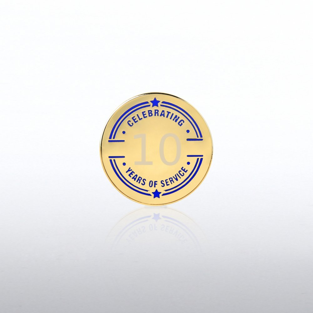 View larger image of Personalized Anniversary Lapel Pin - Collegiate Years