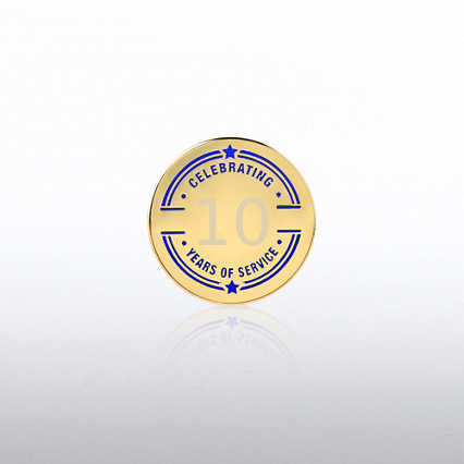 Personalized Anniversary Lapel Pin - Collegiate Years
