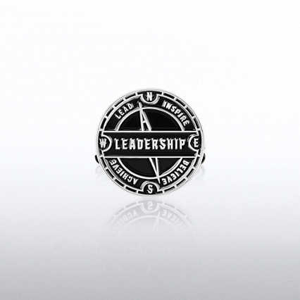 Lapel Pin - Leadership Compass