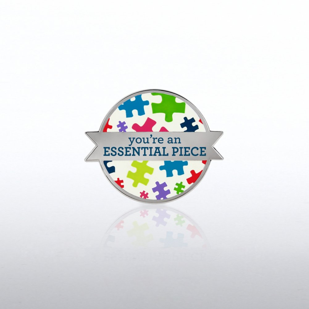 View larger image of Lapel Pin - Essential Piece - Puzzle Pieces