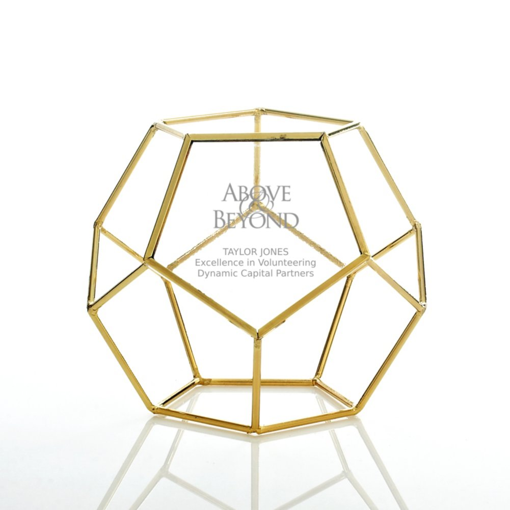 View larger image of Artful Desktop Trophy - Dodecahedron