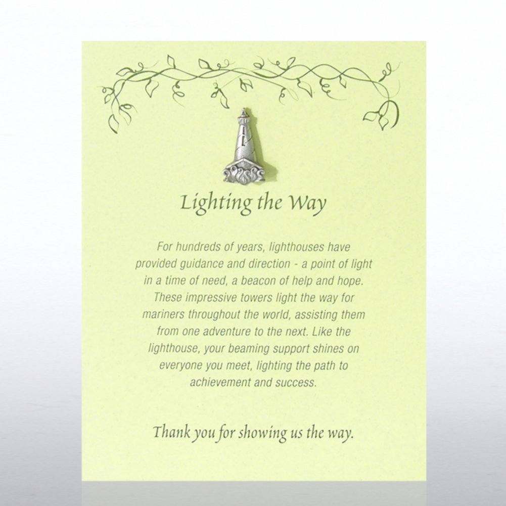 View larger image of Character Pin - Lighthouse: Lighting the Way