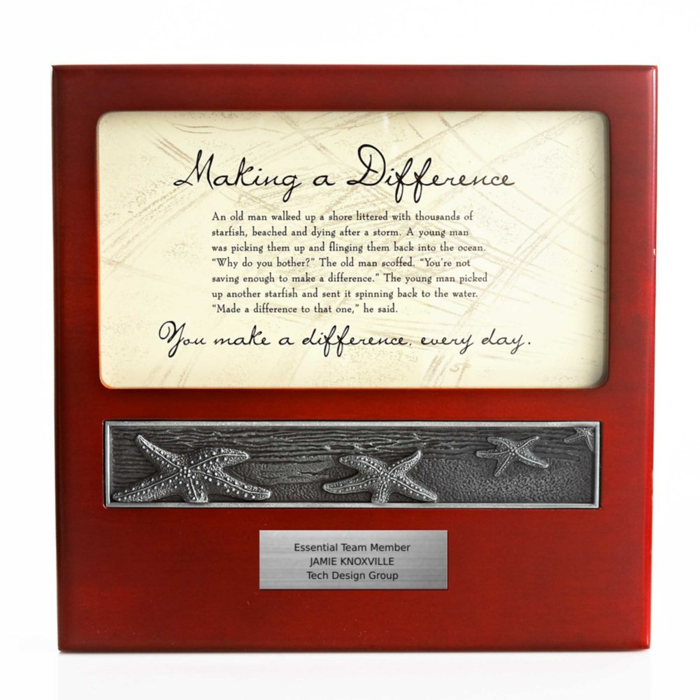 View larger image of Character Impressions Trophy - Starfish: Making a Difference