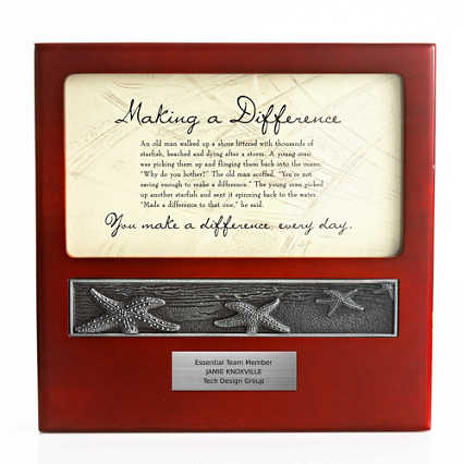 Character Impressions Trophy - Starfish: Making a Difference
