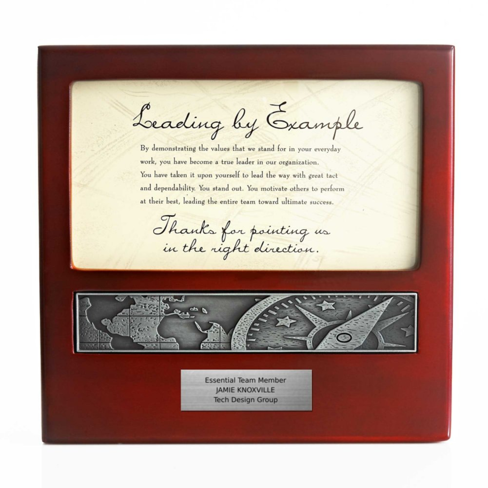 View larger image of Character Impressions Trophy - Compass: Leading by Example