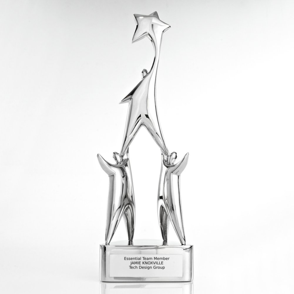 View larger image of Time to Shine Trophy - Star Achievement