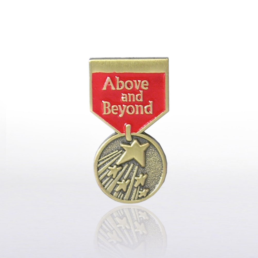 View larger image of Lapel Pin - Medal - Above & Beyond