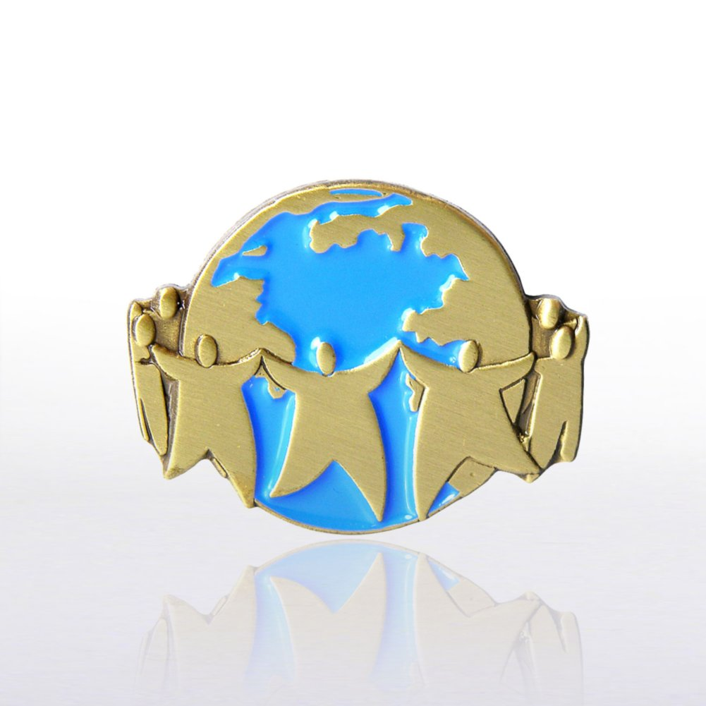 View larger image of Lapel Pin - Team World