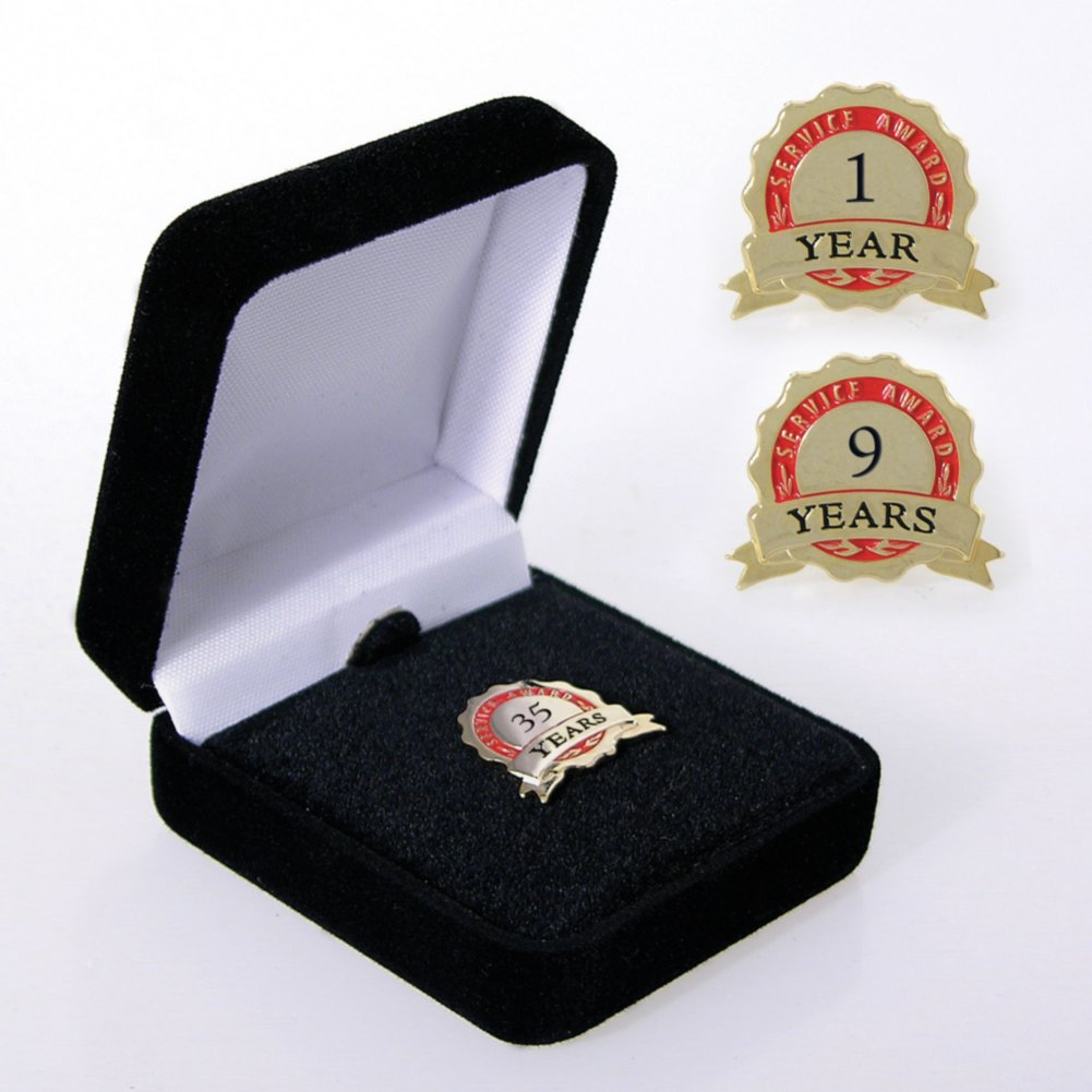 View larger image of Anniversary Lapel Pin - Service Award Ribbon