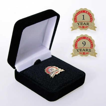 Anniversary Lapel Pin - Service Award Ribbon