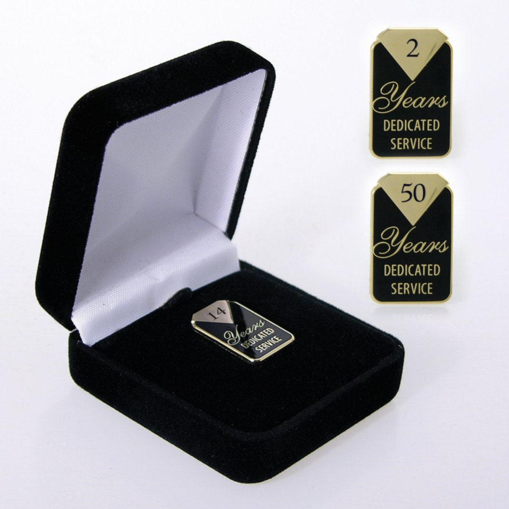 Anniversary Lapel Pin - Dedicated Service
