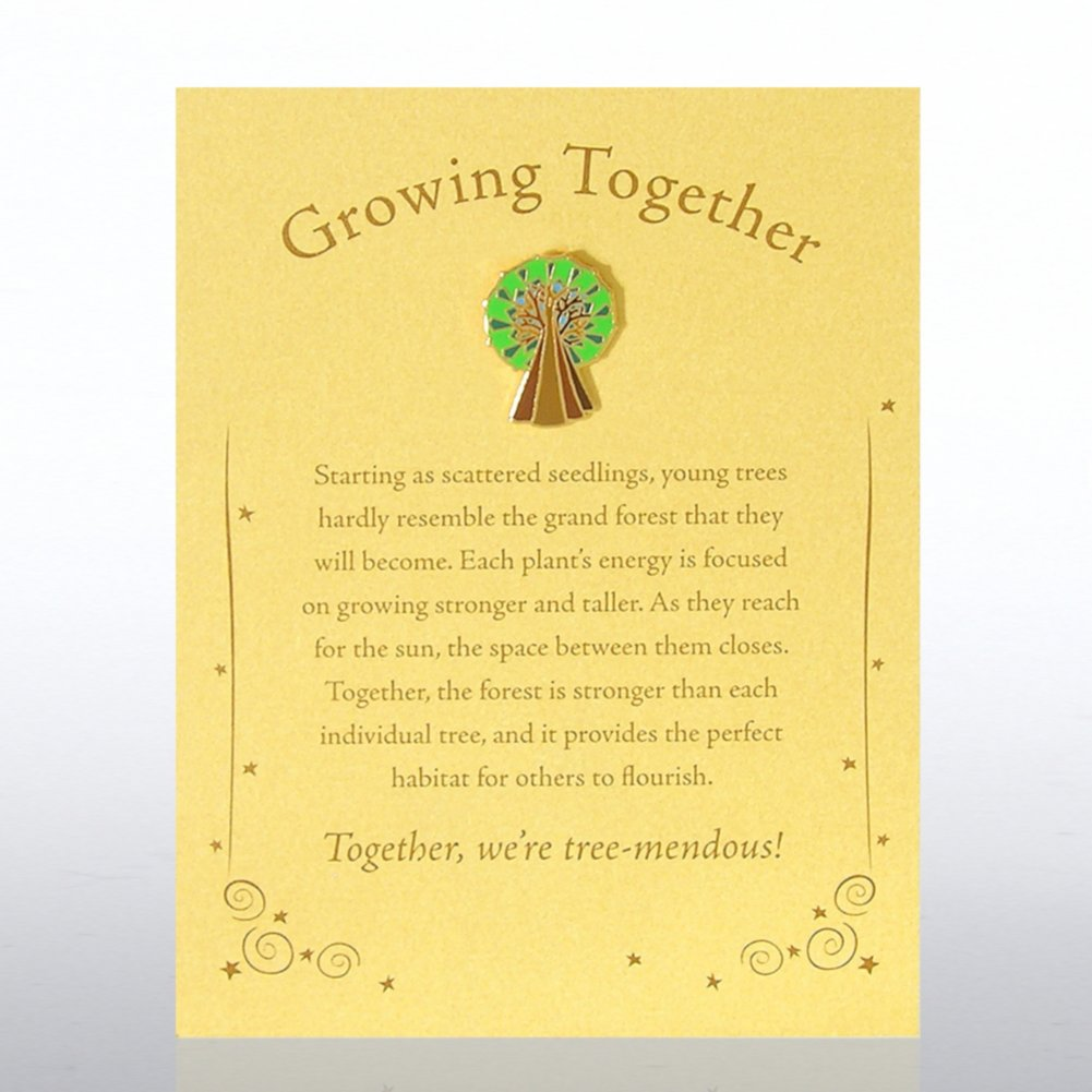 View larger image of Character Pin - Tree: Growing Together