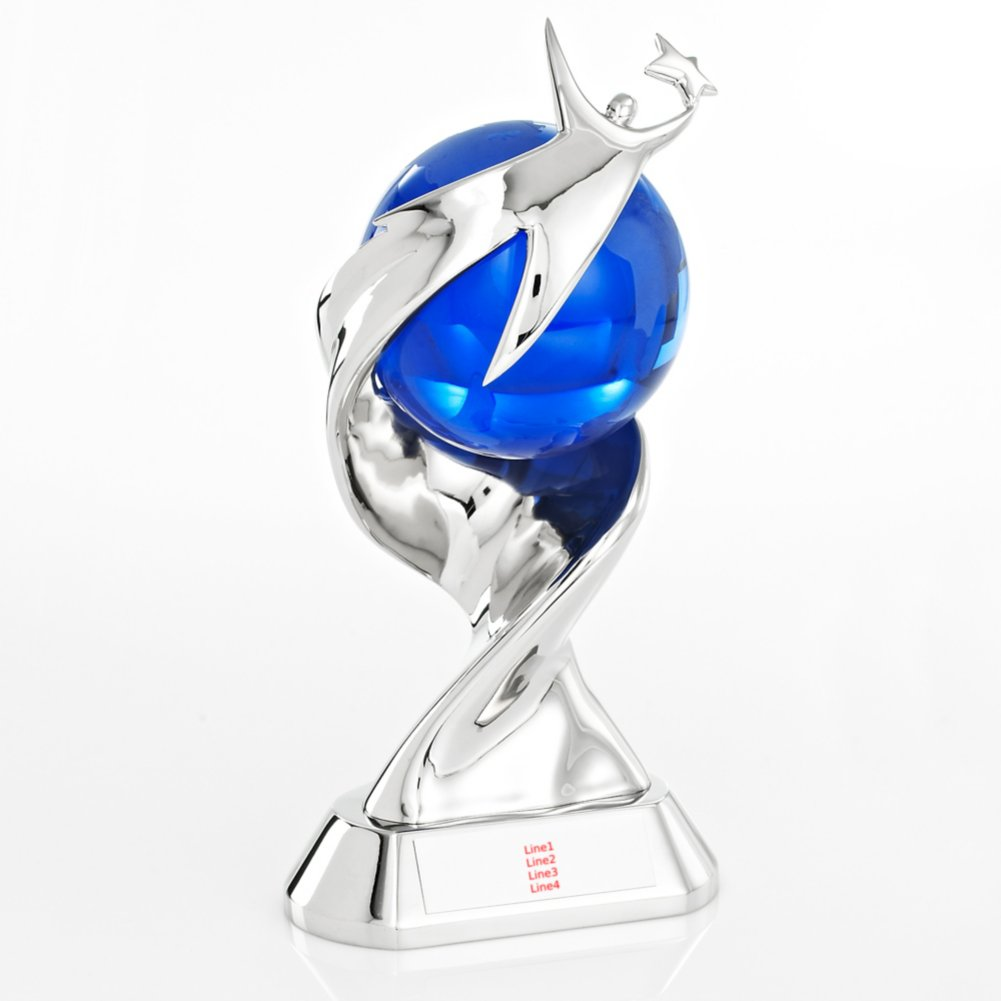 View larger image of Elite Time to Shine Trophy - You Make a World of Difference