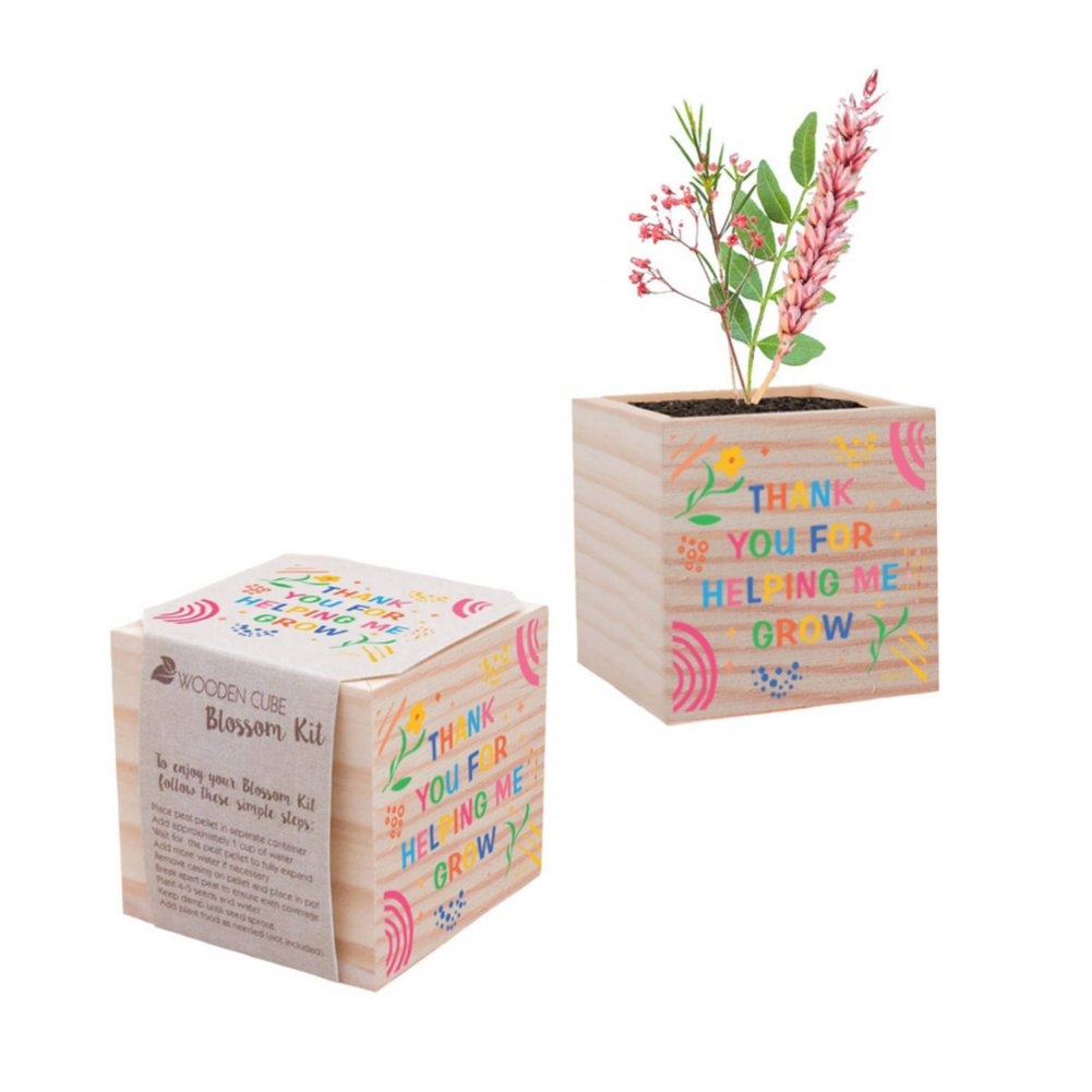 View larger image of Appreciation Plant Cube - Thank You For Helping Me Grow