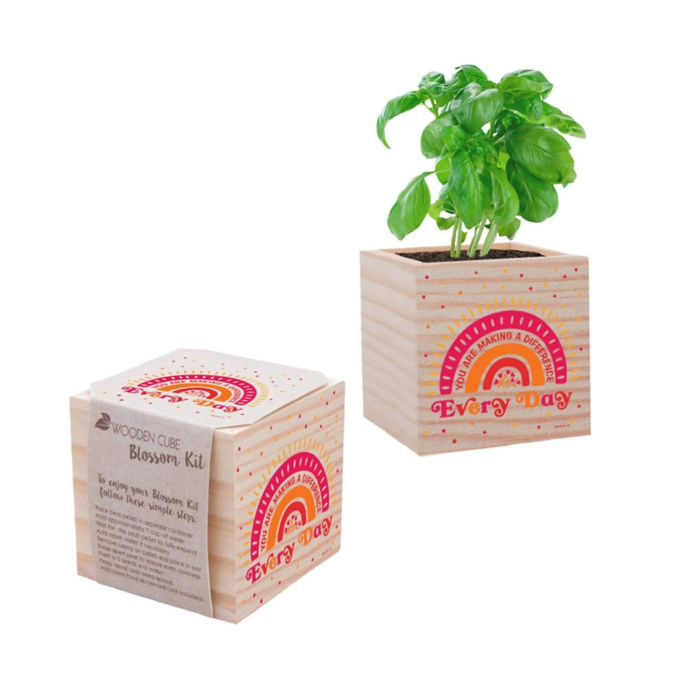 View larger image of Appreciation Plant Cube - Make A Difference