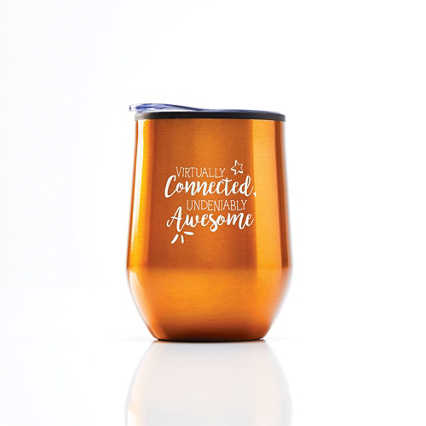 Cheers! Wine Tumbler - Virtually Connected