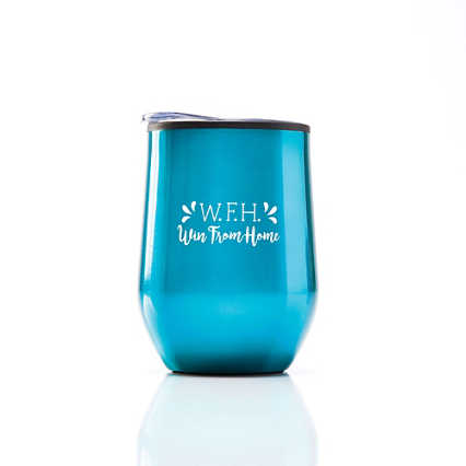 Cheers! Wine Tumbler - Win From Home
