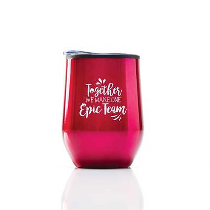 Cheers! Wine Tumbler - Epic Team