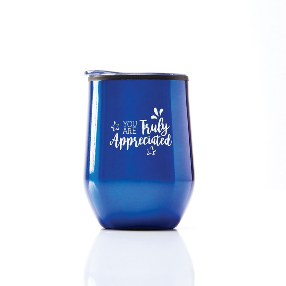 View larger image of Cheers! Wine Tumbler - Truly Appreciated