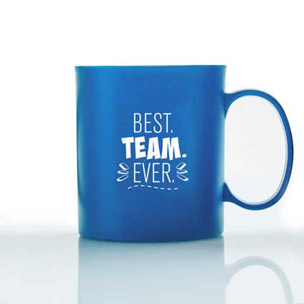 Eco-Smart Wheat Mug - Best Team Ever