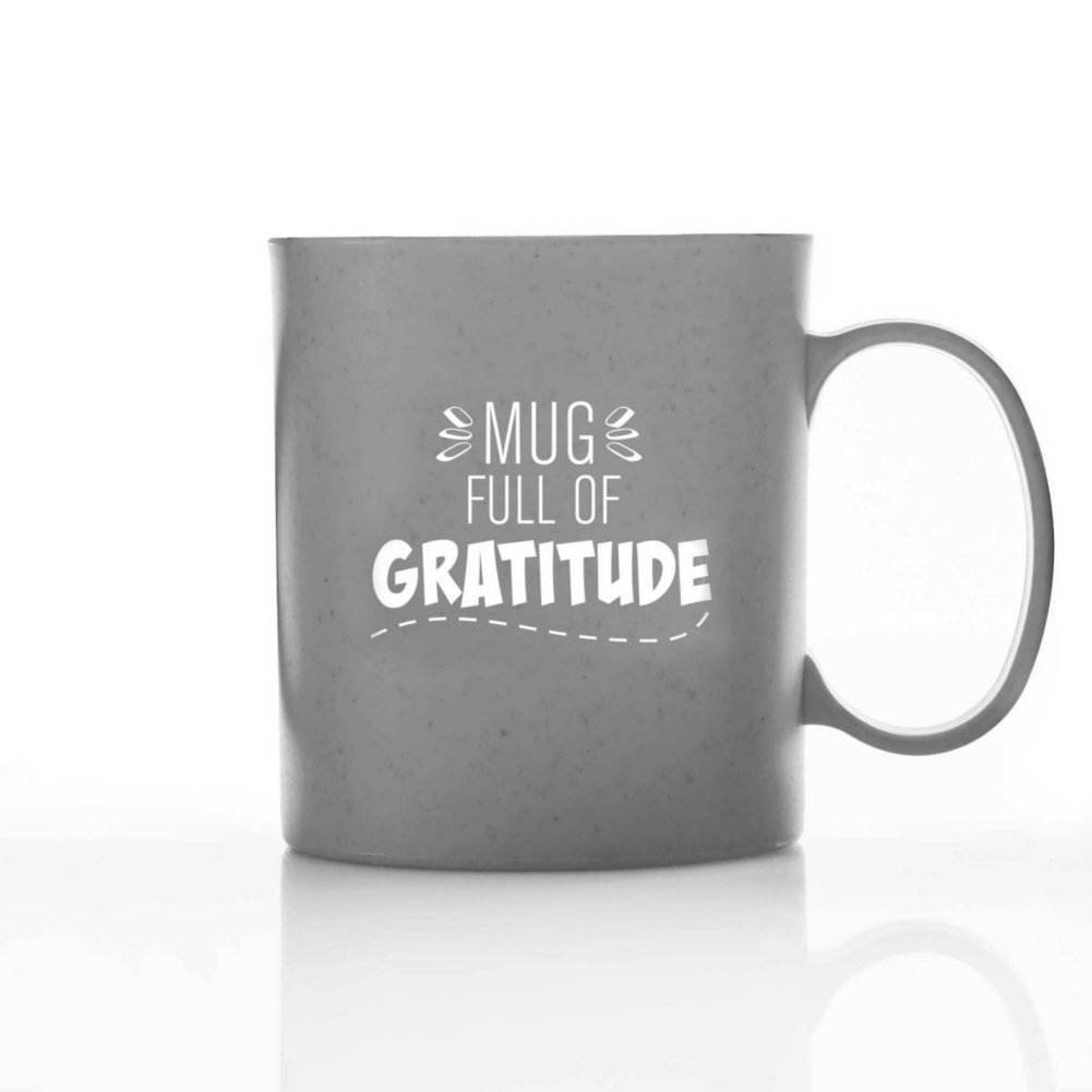 View larger image of Eco-Smart Wheat Mug - Full of Gratitude