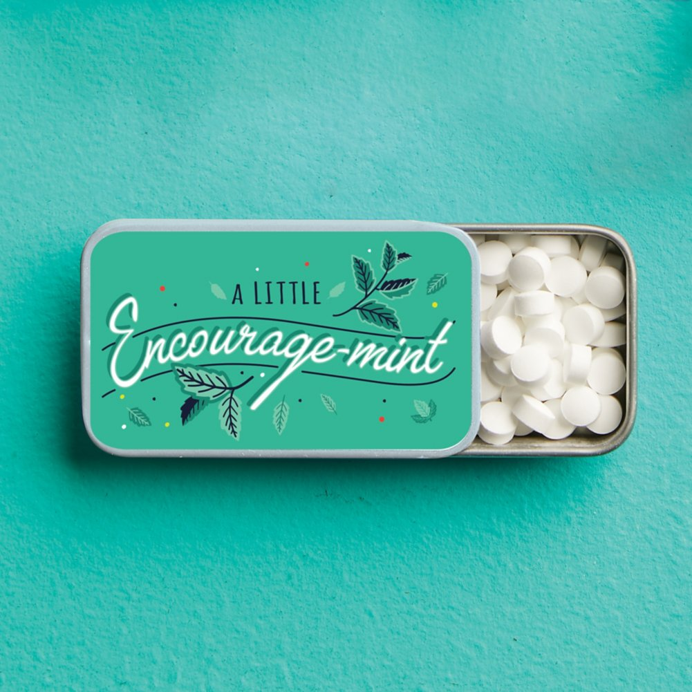 View larger image of Minted Praise - Encourage-mint