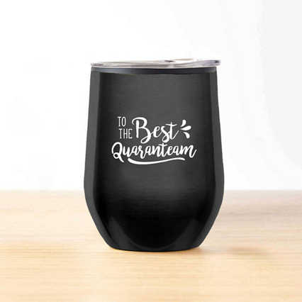 Cheers! Wine Tumbler - Best Quaranteam