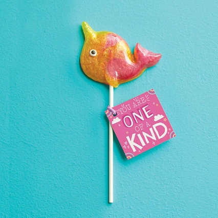 Mythical Narwhal Lollipop - One of a Kind