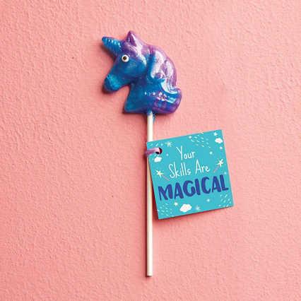 Mythical Unicorn Lollipop - Your Skills