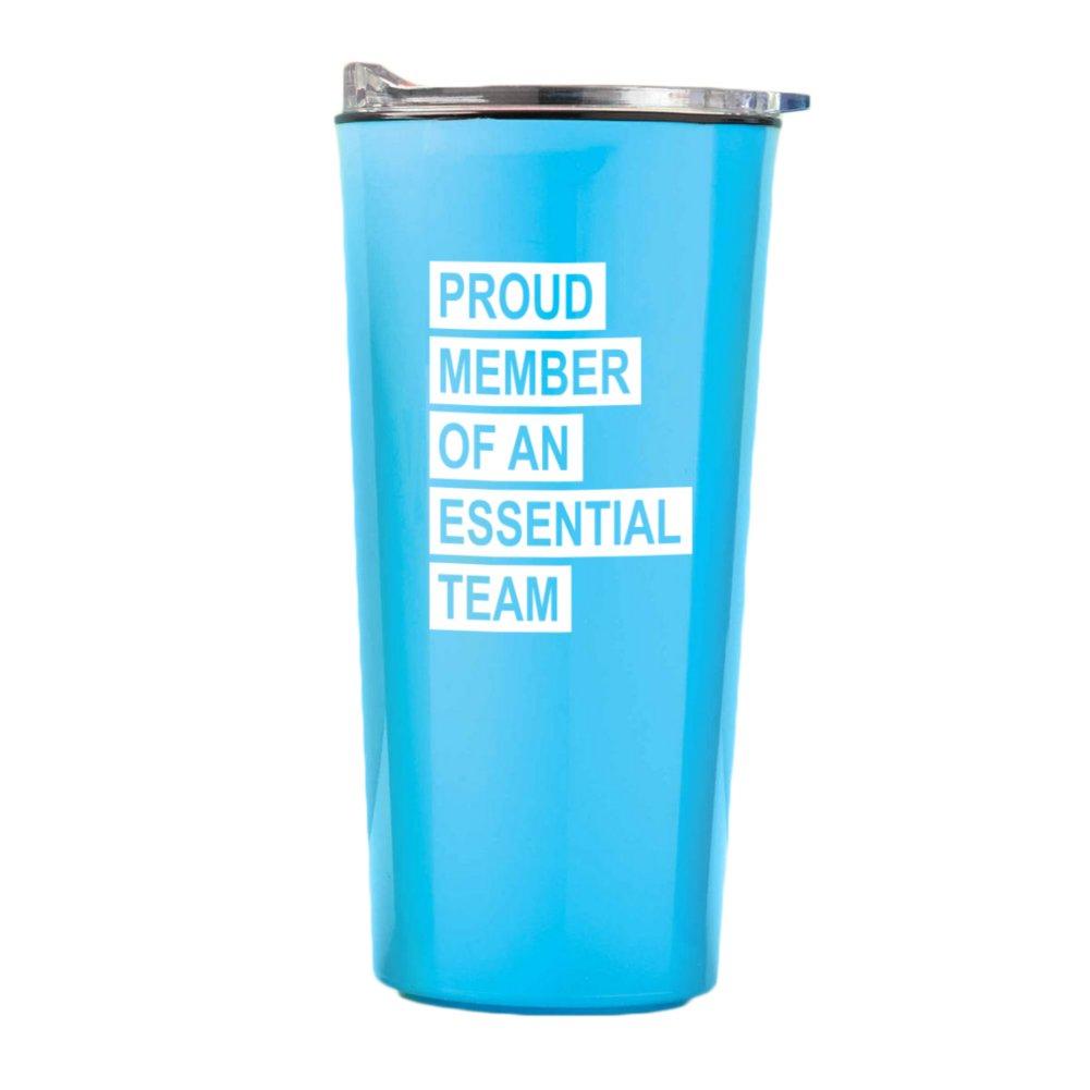View larger image of Road Trip Travel Mug - Proud Member of an Essential Team