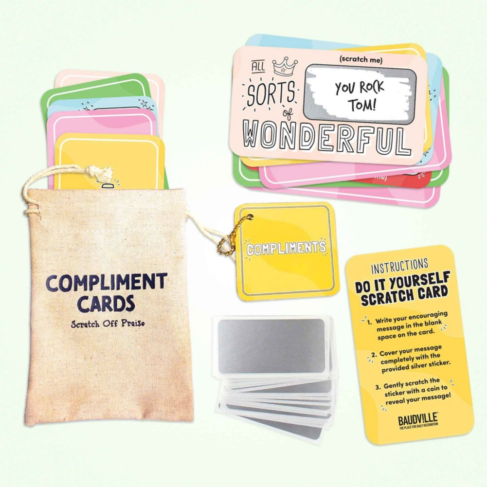 View larger image of Lucky Me Scratch-Off Cards - Full of Compliments