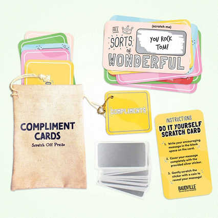 Lucky Me Scratch-Off Cards - Full of Compliments