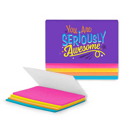 Stick With It Sticky Notes - Seriously Awesome