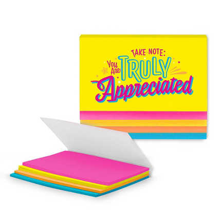 Stick With It Sticky Notes - Truly Appreciated