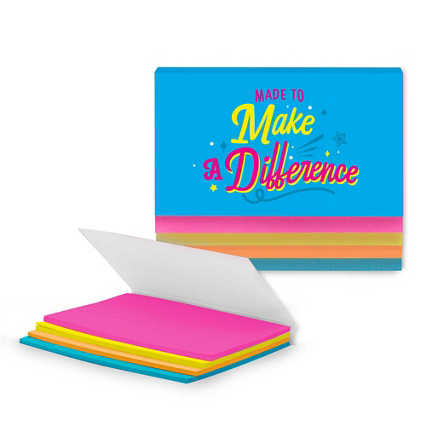Stick With It Sticky Notes - Make a Difference