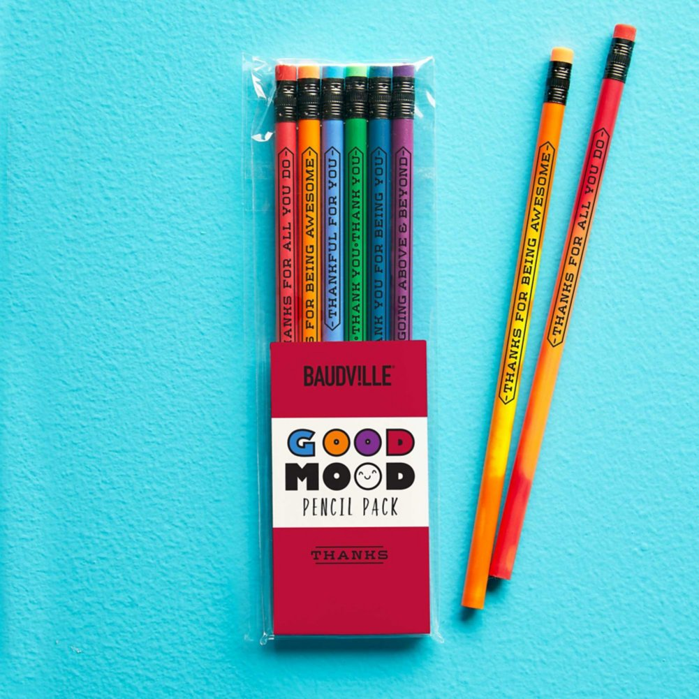 View larger image of Feelin' Good Color Changing Pencil Pack - Thanks
