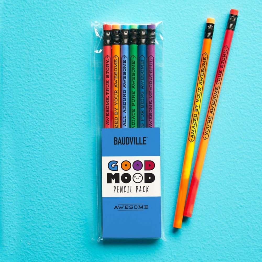 View larger image of Feelin' Good Color Changing Pencil Pack - Awesome