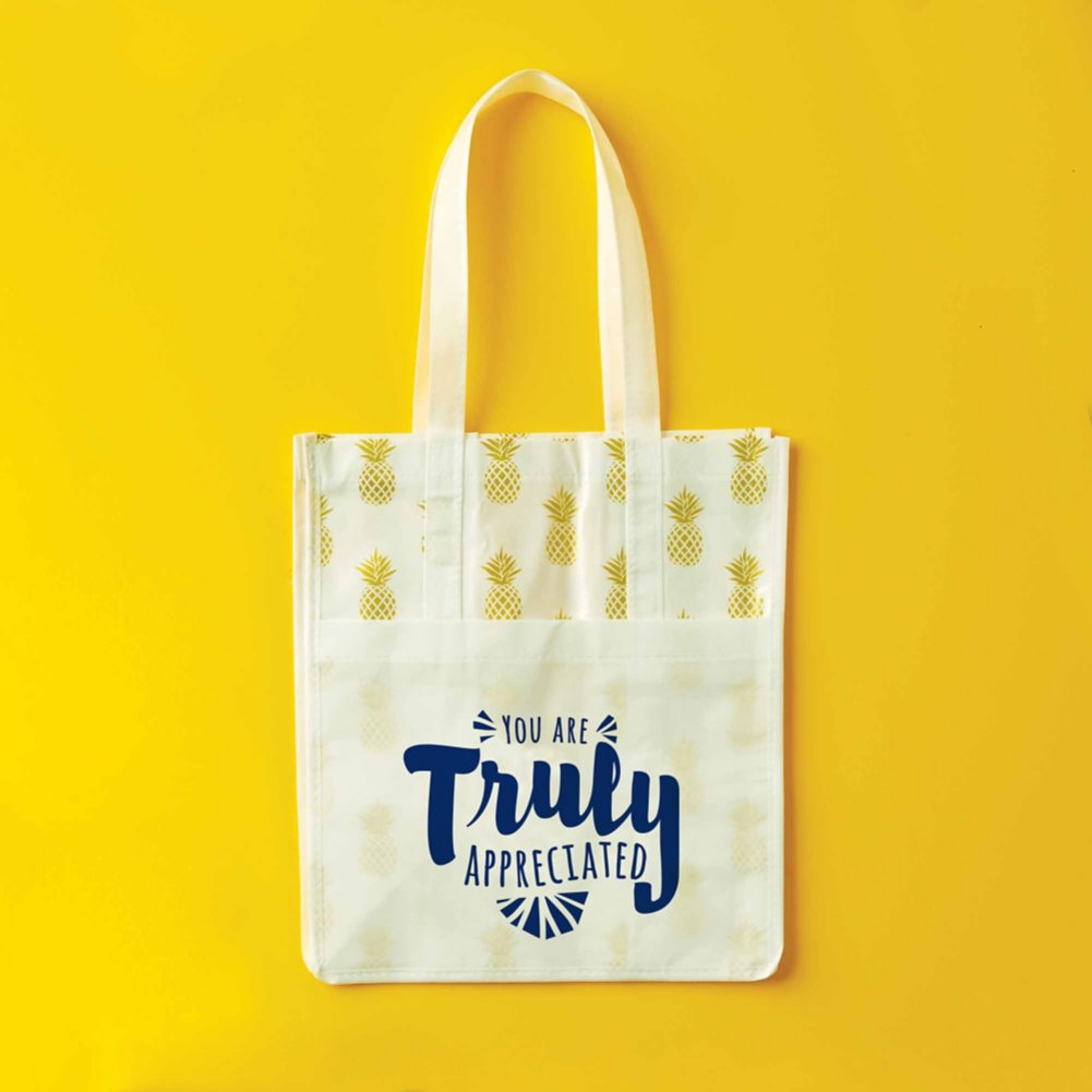 View larger image of Novelty Value Grocery Tote - Pineapple