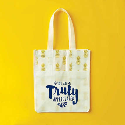 Novelty Value Grocery Tote - Pineapple