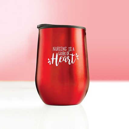 Value Wine Tumbler - Work of Heart