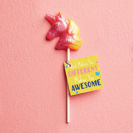 Mythical Unicorn Lollipop - Awesome