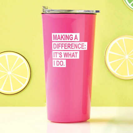 Road Trip Travel Mug - Making a Difference