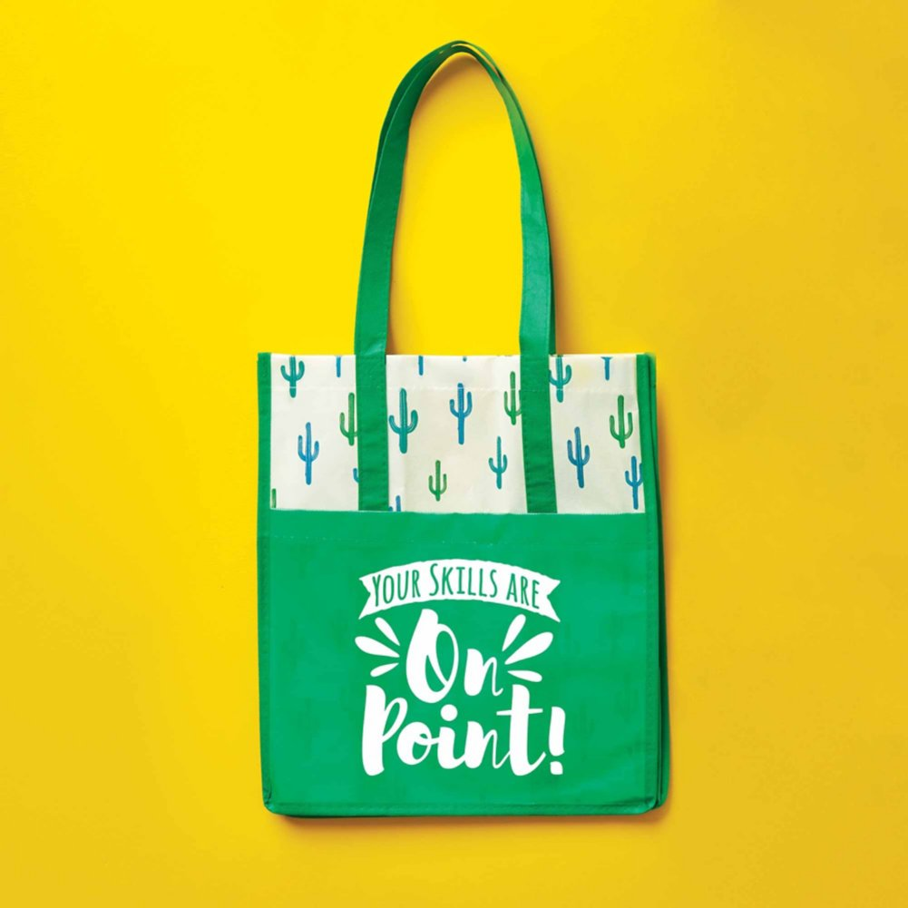 View larger image of Novelty Value Grocery Tote - Cactus