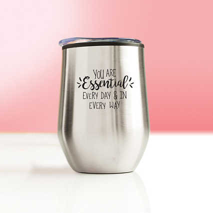 Value Wine Tumbler - You Are Essential