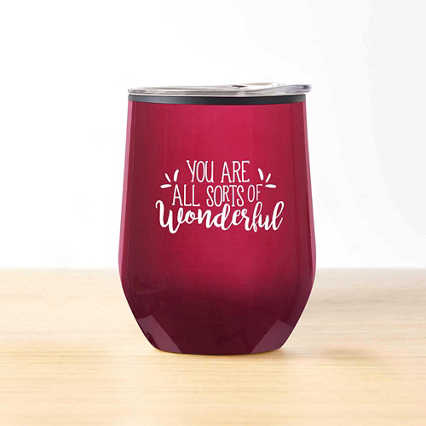 Cheers! Wine Tumbler - All Sorts of Wonderful