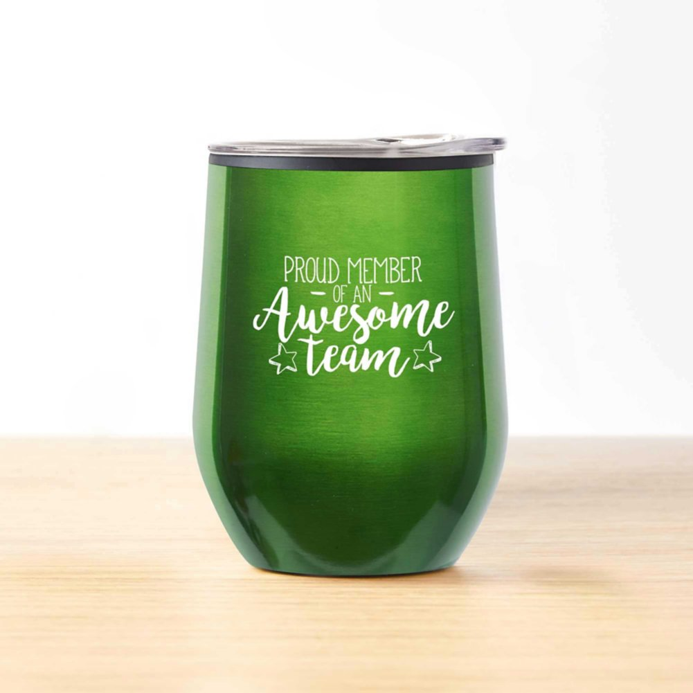 View larger image of Cheers! Wine Tumbler - Proud Member