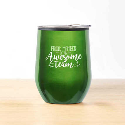 Cheers! Wine Tumbler - Proud Member