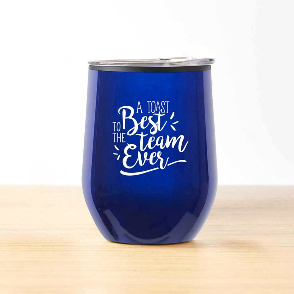 View larger image of Cheers! Wine Tumbler - Best Team Ever