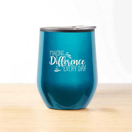 Cheers! Wine Tumbler - Making a Difference